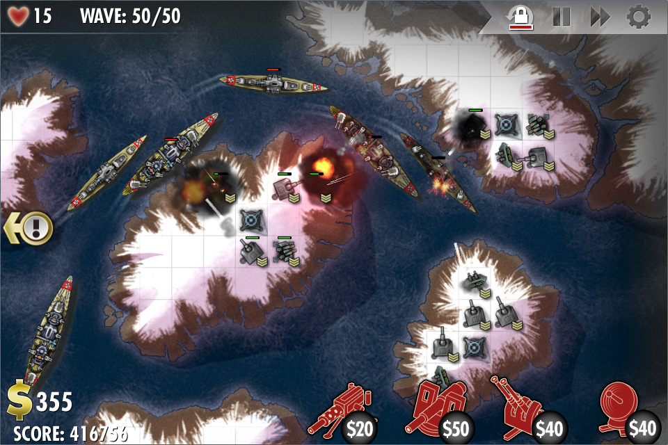 iBomber Defense LITE Screenshot 4